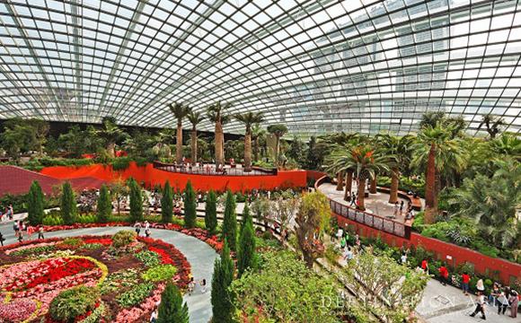 Flower Dome Garden Singapore