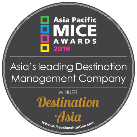 Award for 'Asia's Leading Destination Management Company' Presented to Destination Asia